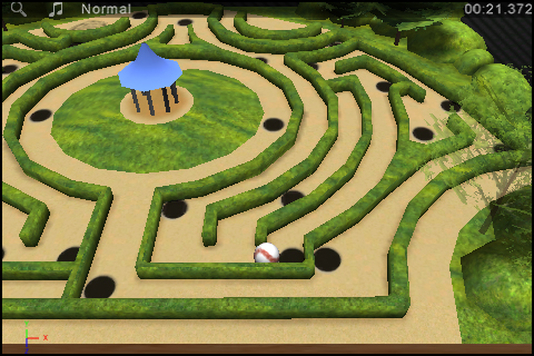 Screenshot iBall3D