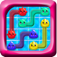 A new jelly cartoon flow brain puzzle game